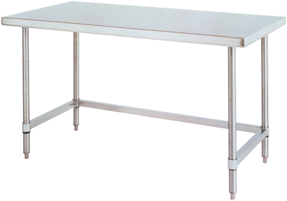 HD Super™ Stainless Steel Work Table with Stainless Steel ...