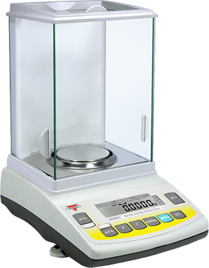 Ohaus 30430053 Pioneer Model PX224 Analytical Balance with Internal Calibration 220g Capacity 0.0001g Readability
