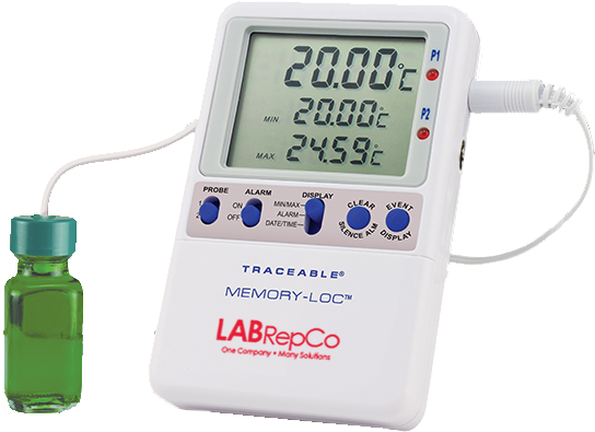 Data Logger Thermometer For Vaccines : Labrepco vaccine storage data loggers digital