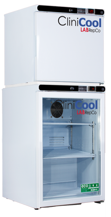 LABREPCO | CliniCool© Silver Series 7 Cu. Ft. Dual Temperature Glass Door Pharmacy/Vaccine