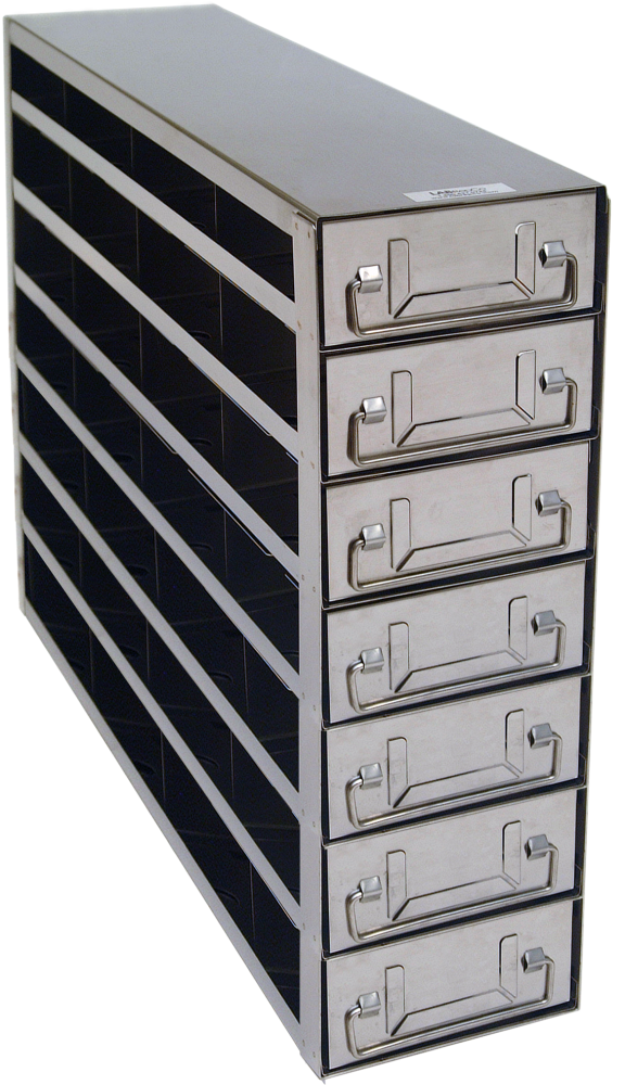 Upright Freezer Rack With Drawers For Standard 2 Bo Only 4 Deep X 7 High