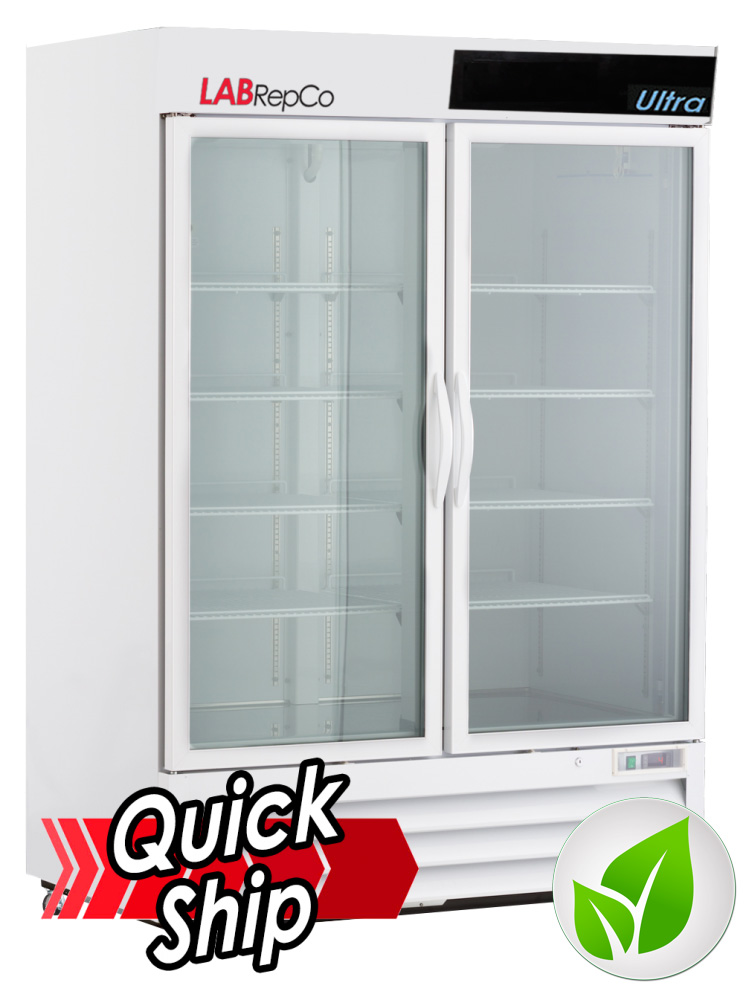 Ultra Series 49 Cu. Ft. Hinged Glass Door Laboratory Refrigerator