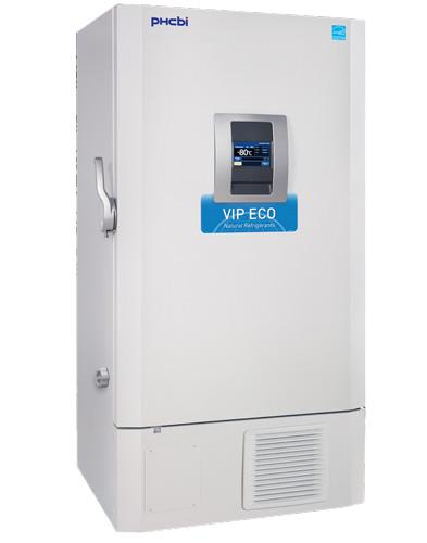 PHCbi (formerly Panasonic) VIP® ECO Natural Refrigerant 25.7 Cu. Ft. -86°C Ultra Low Temp Laboratory Freezer (220V) (Capacity: 576 x 2″ Boxes)