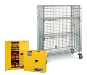 Safety Cabinets & Lockers
