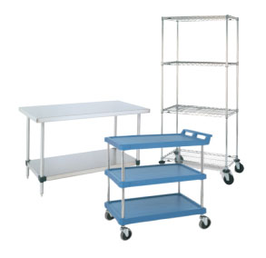 Carts, Shelving and Tables