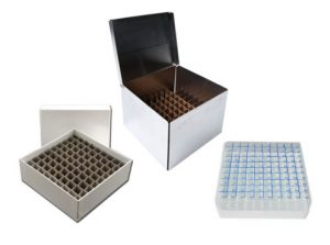 Storage Boxes and Cell Dividers