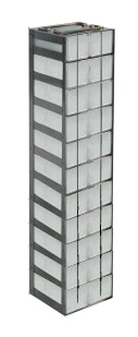 Vertical Freezer Racks for Microtube Boxes