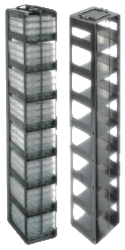 Vertical Freezer Racks for Microtiter Plates