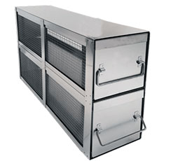 Bin Style Organizer Upright Freezer Racks
