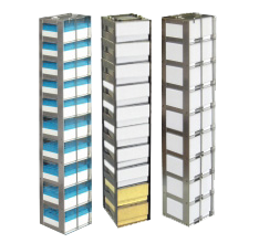 "Vertical Freezer Racks for 2"" Mini Boxes"