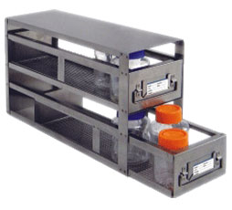 Upright Freezer Racks for Storage Bottles