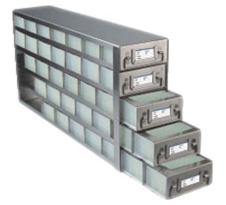 Upright Freezer Racks for Microtiter Plates
