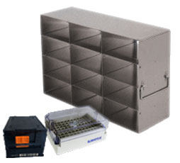 Upright Freezer Racks for Microtube Boxes (MATRIX, FluidX, Micronic Racks, etc.)