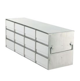 Standard Upright Freezer Racks for 2″ Boxes