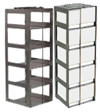 Vertical Freezer Racks for 3″ Boxes