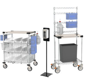 PPE Storage & Sanitization Stands